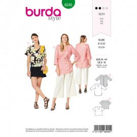 Sewing pattern Top  Burda N°6245