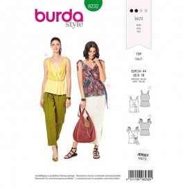 Top cache coeur –  Burda N°6232