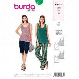 Sewing pattern Top  Burda N°6231