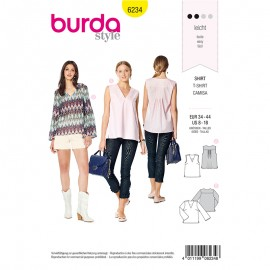 Sewing pattern Top  Burda N°6234