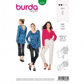 Sewing pattern Top  Burda N°6230
