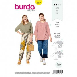 Patron Blouse ample –  Burda N°6217