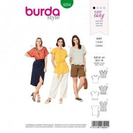 Sewing pattern Top  Burda N°6204