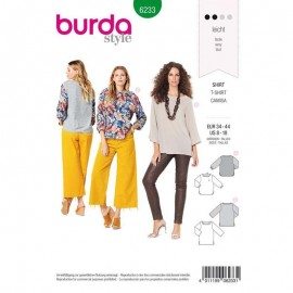 Sewing pattern Top  Burda N°6233