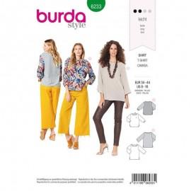 Top manche longue –  Burda N°6233