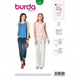 Sewing pattern Top  Burda N°6201