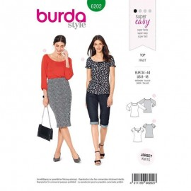 Top Sewing Pattern Burda N°6202