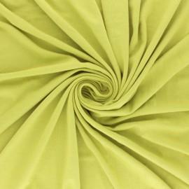 Tissu jersey Modal uni - vert kaki x 10cm