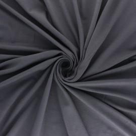 Tissu jersey Modal uni - vert avocat x 10cm