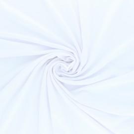Tissu jersey Modal uni - gris clair x 10cm