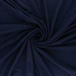 Plain Modal jersey Fabric - lagoon blue x 10cm