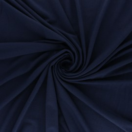 Tissu jersey Modal uni - lagon x 10cm