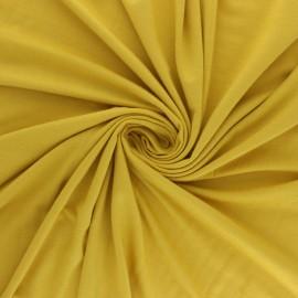 Tissu jersey Modal uni - ocre x 10cm