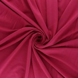 Tissu jersey Modal uni - rose corail x 10cm