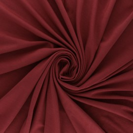 Plain Modal jersey Fabric - strawberry red x 10cm