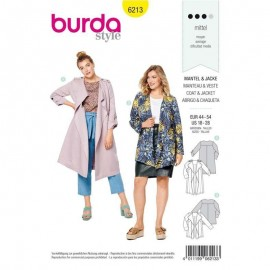 Jacket Sewing Pattern - Burda n°6213