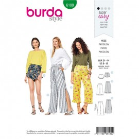Pants Sewing Pattern - Burda n°6199