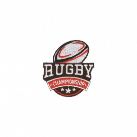 Rugby Championship Iron-On Patch - C