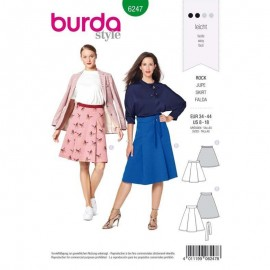 Skirt Sewing Fabric Burda n°6247
