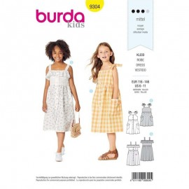 Dress Burda Sewing Pattern N°9304