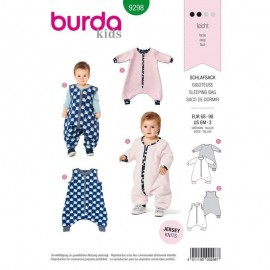 Sleeping bag Burda n°9298
