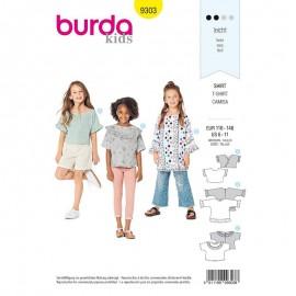 Blouse Sewing Pattern - Burda Style n°9303