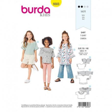 Patron Tunique enfant Burda Style n°9303