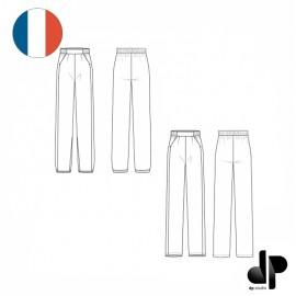 Patron Femme dp's by DP Studio Pantalon Fluide - Le 3003