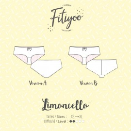 Fitiyoo Sewing Pattern - Limoncello Shorts