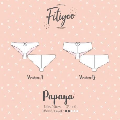 Fitiyoo Sewing Pattern - Margarita Panties