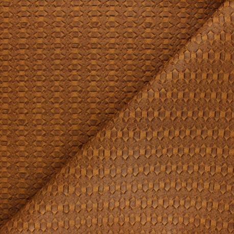 Simili cuir tressé Manica - Bordeaux x 10cm