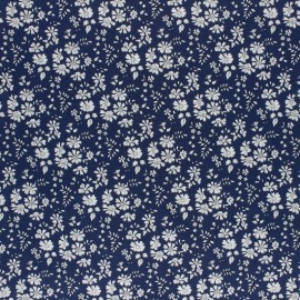 Liberty Fabric - Capel Navy - 40TH ANNIVERSARY X 10CM