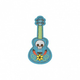Mexicanos Iron-on - Guitar