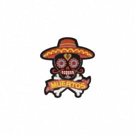 Ecusson Thermocollant Mexicanos - El Papi