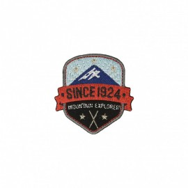 Mountain Explorer Iron-on Patch - A
