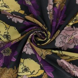 Viscose Fabric - Brown Fedora x 10cm