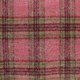 Tissu Lainage Emma - Rouge x 10cm