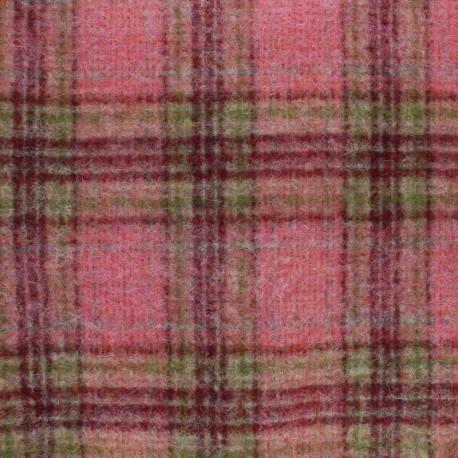 Wool fabric - Red Emma x 10cm
