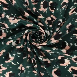 Tissu Viscose Pinkleo - Vert x 10cm