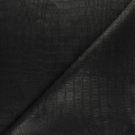 Qualité natté texturé Uni Faux Cuir Vinyle Vert tissus d/'ameublement