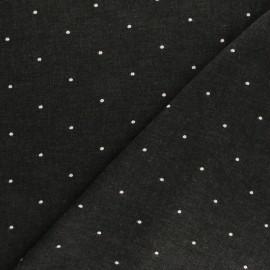 Tissu viscose les guépards - beige x 10cm
