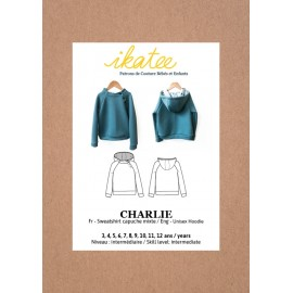 Sweatshirt Sewing pattern - Ikatee Charlie
