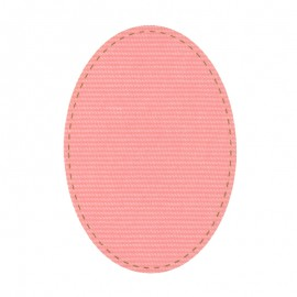 Canvas Fabric Iron On Knee and Elbow Pads - Pink