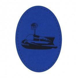 Coudière genouillère Sous-marin en jersey (la paire) - Bleu