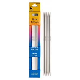 Pony double point knitting needle 20 cm