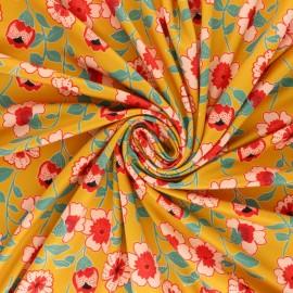 Tissu Lycra by Penelope Floraison - noir x 10cm
