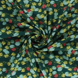 Tissu viscose Kisnek - palmier x 10cm