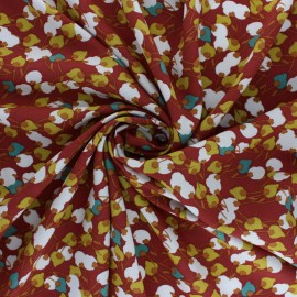 Domotex Viscose Fabric - Pepper Kisnek x 10cm