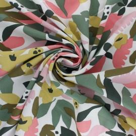 Tissu viscose Hania - écru x 10cm