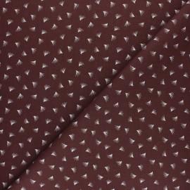 Tissu coton cretonne Pipson - Vert émeraude x 10cm